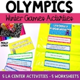 Winter Olympics Unit {Language Arts Edition}
