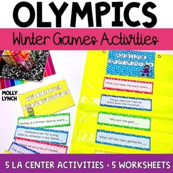 Winter Olympics Unit {Language Arts Edition}