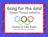 Going for the Gold! Olympic Activities