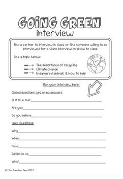 Going green: interview