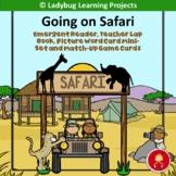 Going on Safari Emergent Reader Set