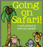 Going on Safari! (a soft g/hard g sound activity pack)