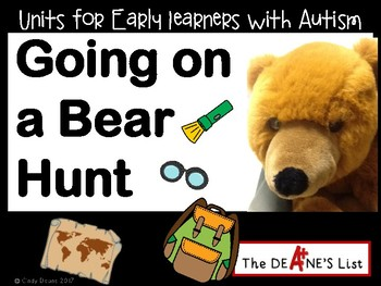 Going on a Bear Hunt: A sensory-motor active learning unit