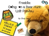 Going on a Bear Hunt Unit Preview