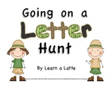 Going on a Letter Hunt - A Fun-filled ABC Activity