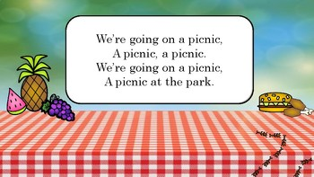 Going on a Picnic 4 Elementary Music PDF