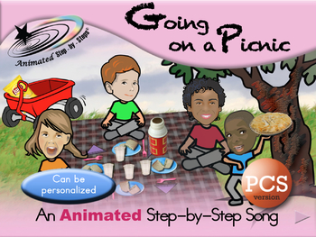 Going on a Picnic - Animated Step-by-Step Song - PCS