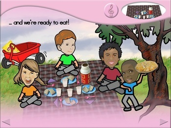 Going on a Picnic - Animated Step-by-Step Song - Regular