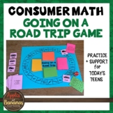 Going on a Road Trip Game - Consumer Math