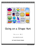 Going on a Shape Hunt K-2 (For after school programs)