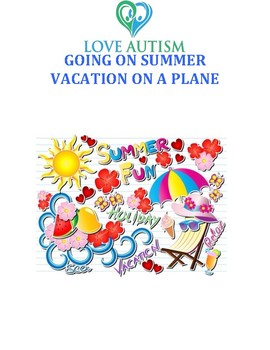Going on a Summer vacation - Plane