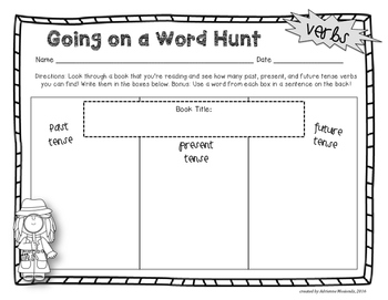 Going on a Word Hunt!