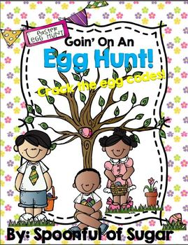 "Going on an Egg Hunt! (An ""Egg-stra"" Fun  CVC Unit)"