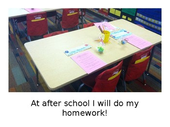 Going to After School Social Story-Editable