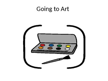 Going to Art Social Story