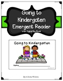Going to Kindergarten Emergent Reader and Digital Big Book