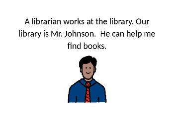 Going to Library Social Story