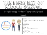 Going to Middle School Social Stories for Teens with Special Needs Autism SLD