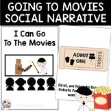 Social Story Going to Movies Cinema