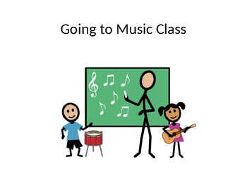 Going to Music Class Social Story