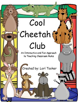 Beginning of Year/ Classroom Management- The Cool Cheetah Club