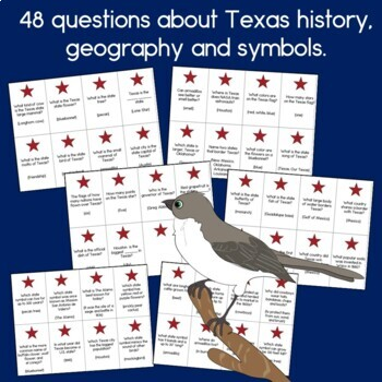 Going to Texas Game: History, Geography and Symbols of the Lone Star State