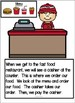 Going to a Fast Food Restaurant - Book and Activities