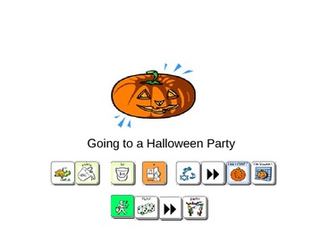 Going to a Halloween Party Social Story