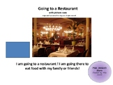 Going to a Restaurant Life Skills Social Story with Picture Cues
