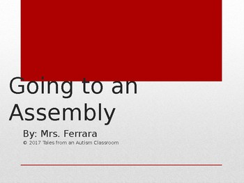 Going to an Assembly