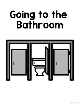 Going to the Bathroom - Social Story (Boardmaker Symbols)