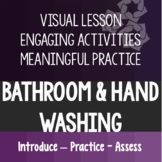 Going to the Bathroom & Washing Hands Life Skills Special Ed Distance Learning