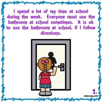 Going to the Bathroom at School (A Social Story)