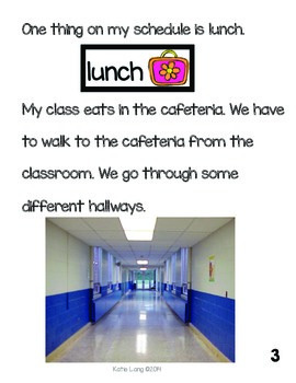 Social Story-Going to the Cafeteria