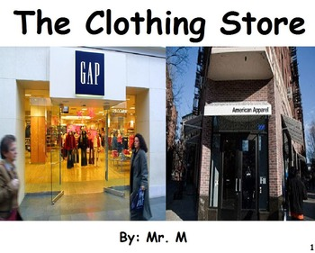 Going to the Clothing Store: A Functional Social Story to Teach Academics