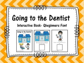 Going to the Dentist- Interactive Book for Dental Week
