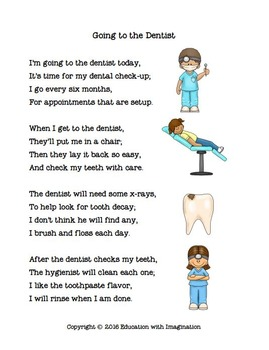 DENTAL THEME Going to the Dentist Bundle