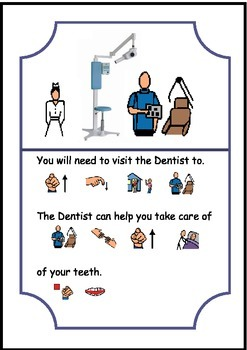 Going to the Dentist - Social Story