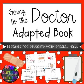 Going to the Doctor Adapted Book