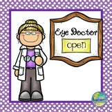 Going to the Eye Doctor Dramatic Play