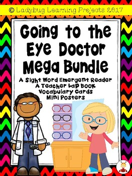 Going to the Eye Doctor Mega Bundle  {Ladybug Learning Projects]