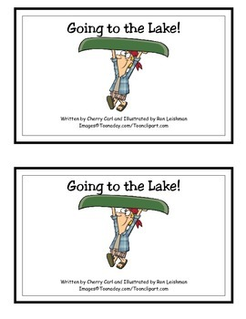 Going to the Lake Guided Reader (-ake Word Family)