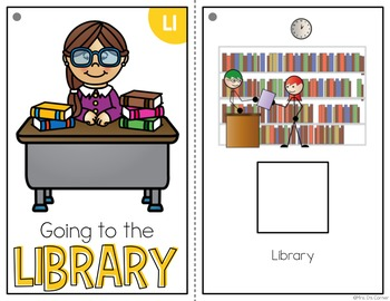 Going to the Library Adapted Books ( Level 1 and Level 2 )