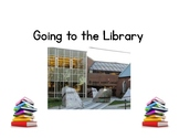Going to the Library Social Story & Activity
