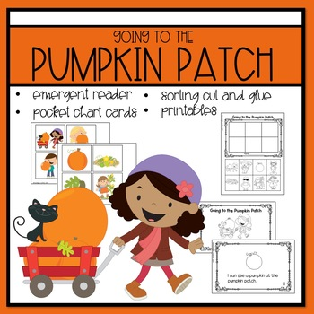 Going to the Pumpkin Patch Emergent Reader and Mini Literacy Set