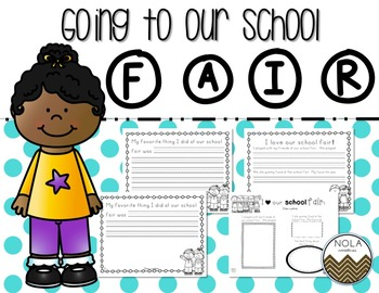 Going to the School Fair- Writing Activity