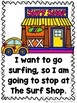 Going to the Surf Shop  (A Sight Word Emergent Reader and Teacher Lap Book)