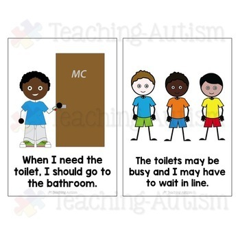 Social Story   Going to the Toilet. Social Story   Going to the Toilet by Teaching Autism   TpT
