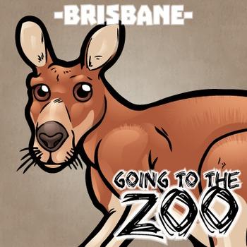 Going to the Zoo! -- Brisbane -- 12 Wild Animals -- 100+ K-2 Resources
