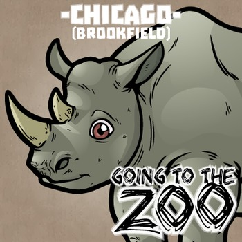 Going to the Zoo! -- Chicago Brookfield -- 12 Wild Animals -- 100+ K-2 Resources